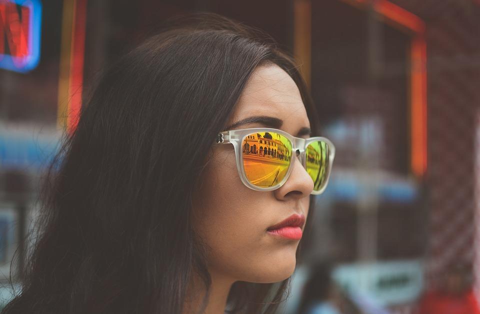 verres lunettes colorés